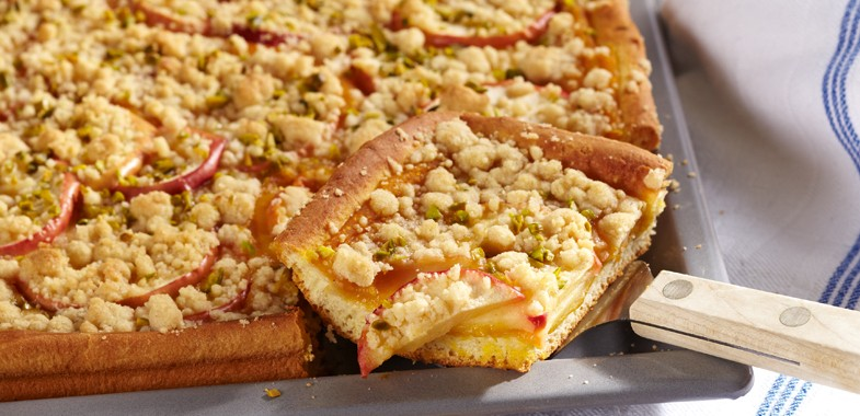 Rezept Apfel-Blech-Kuchen