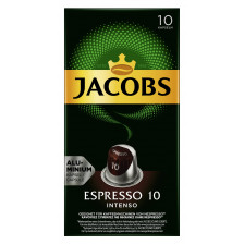 Jacobs Espresso 10 Intenso Kaffekapseln 10ST 52G