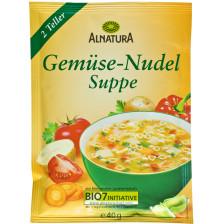 Alnatura Bio Gemüse-Nudel Suppe 40G