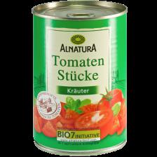 Alnatura Bio Tomaten in Stücke Kräuter 400G