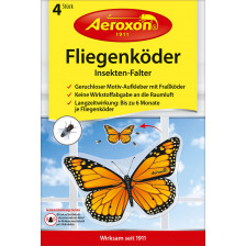 Aeroxon Insektenfalter Fliegenköder 4ST