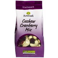 Alnatura Bio Cashew Cranberry Mix 150G