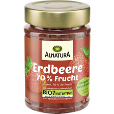 Alnatura Bio Fruchtaufstrich Erdbeere mit Agavendicksaft 200G