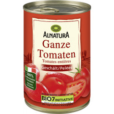 Alnatura Bio Ganze Tomaten geschält 400G