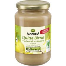 Alnatura Bio Quitte-Birne Fruchtmark mit Banane 360G