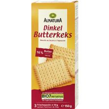 Alnatura Bio Dinkel Butterkeks 150G
