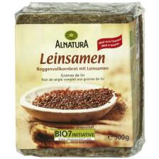 Alnatura Bio Leinsamen Brot 500 g
