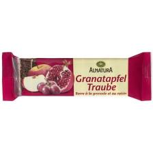 Alnatura Bio Granatapfel-Traube Fruchtschnitte 75G