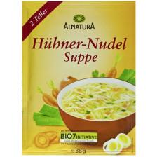 Alnatura Bio Hühner-Nudel-Suppe 38G