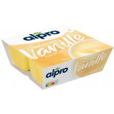 Alpro Soya-Dessert Feine Vanille 4x125G