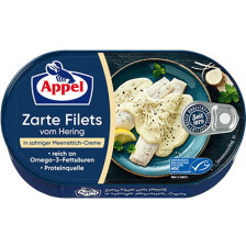 Appel zarte Heringsfilets in Sahne-Meerrettich-Creme 200 g