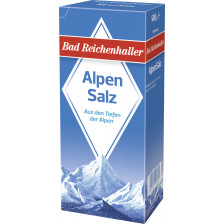 Bad Reichenhaller Alpensalz 500G