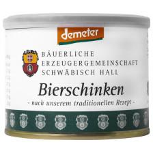 Bäuerliche Erzeugergemeinschaft Schwäbisch Hall Demeter Bio-Bierschinken 200g
