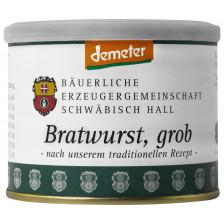 Bäuerliche Erzeugergemeinschaft Schwäbisch Hall Demeter Bratwurst grob 200G