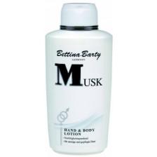 Bettina Barty Hand & Body Lotion Musk 0,5 ltr