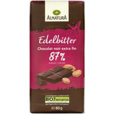 Alnatura Bio Edelbitter Schokolade 80G