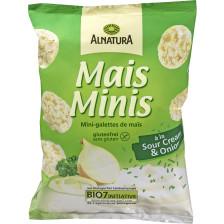 Alnatura Bio Mais Minis a la Sour Cream & Onion 50 g
