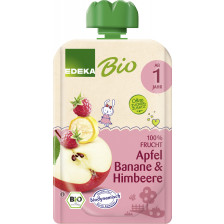 EDEKA Bio Apfel, Banane & Himbeere ab 1 Jahr 100G
