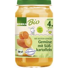 EDEKA Bio Gemüse mit Süßkartoffeln nach dem 4.Monat 190G