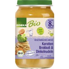 EDEKA Bio Karotten, Brokkoli & Dinkelnudeln ab dem 8.Monat 220G