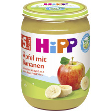 Hipp Bio Äpfel mit Bananen ab dem 5.Monat 190G