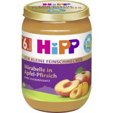 Hipp Bio Für Kleine Feinschmecker Mirabelle in Apfel-Pfirsich ab 6.Monat 190G