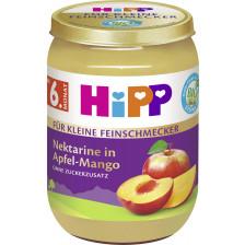 Hipp Bio Für Kleine Feinschmecker Nektarine in Apfel-Mango ab 6.Monat 190G