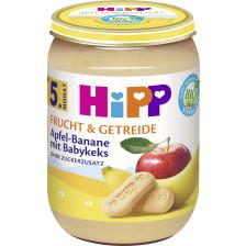 Hipp Bio Frucht & Getreide Apfel-Banane mit Babykeks ab 5.Monat 190G