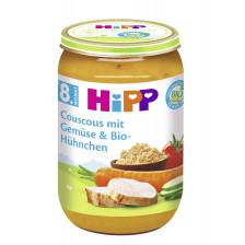 Hipp Bio Couscous mit Gemüse und Bio-Hühnchen ab 8.Monat 220G
