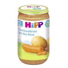 Hipp Bio Gemüseallerlei mit Bio-Rind ab dem 12.Monat 250G