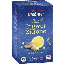 Meßmer Bio Tee Ingwer Zitrone 20ST 40G