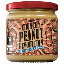 Peanut Revolution Bio Erdnuss-Creme Crunchy 375G