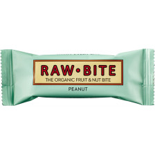Raw Bite Bio Peanut Riegel 50 g