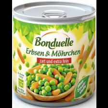 Bonduelle Erbsen & Möhrchen zart und extra fein 400G