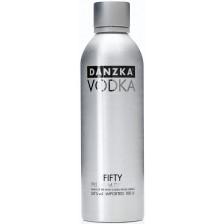 Danzka Vodka Black 50% 1l