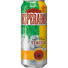 Desperados Tequila Flavoured Beer 500ml Dose