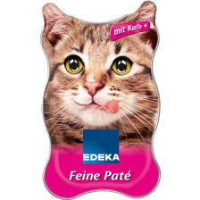 EDEKA Feine Paté mit Kalb 85G