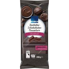 EDEKA Zartbitter Schokoladen Couverture 200g