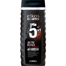 elkos For Men Aktivkohle 5in1 Duschgel 300ML