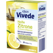 elkos VIVEDE Heiße Zitrone Sticks 20x 5 g