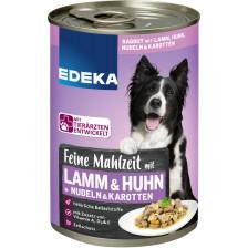 EDEKA Feine Mahlzeit mit Lamm, Huhn, Nudeln & Karotten 400G