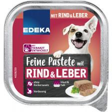 EDEKA Feine Pastete mit Rind & Leber 150G