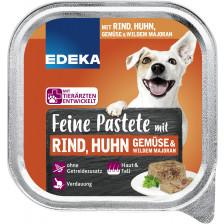 EDEKA Feine Pastete mit Rind, Huhn, Gemüse & wildem Majoran 150G