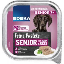 EDEKA Feine Pastete Senior 7+ mit Huhn & Reis 300G