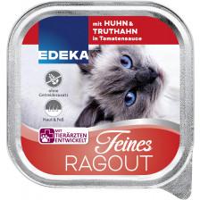 EDEKA Feines Ragout mit Huhn & Truthahn in Tomatensauce 100G