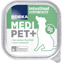 EDEKA Medi Pet+ Hund Intestinal Pute pur mit Reis 150G