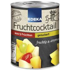 EDEKA 5-Fruchtcocktail gezuckert 225 g