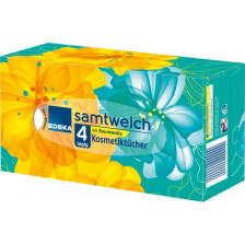 EDEKA Samtweich Kosmetiktücher 4-lagig 80 Stück