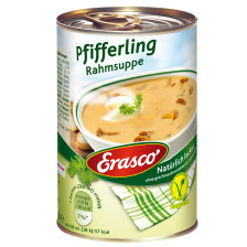 Erasco Pfifferling Rahmsuppe 390ML