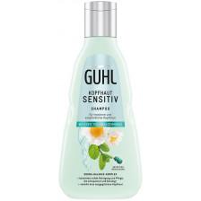 Guhl Kopfhaut Sensitiv Shampoo Weisser Tee + Wasserminze 250 ml